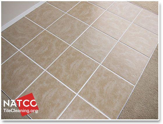 Clean Ceramic Tile Floor For The Home Pinterest