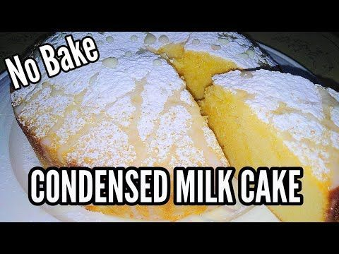 Easy Condensed Milk Cake Madali Lang Condensed Milk Recipes Condensed Milk Cake Baking