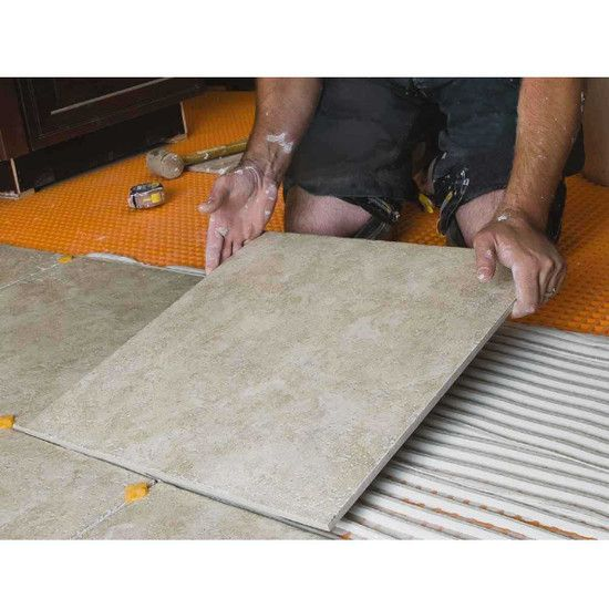 Home In 2020 Tile Installation Membrane Stress Causes