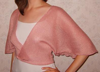 1 piece Bolero pattern