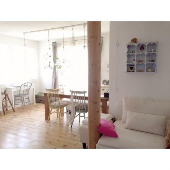 saooo39さんの、部屋全体,照明,IKEA,雑貨,DIY,ZARA HOME,紫陽花,リノベーション,中古住宅,海外インテリアに憧れる,のお部屋写真