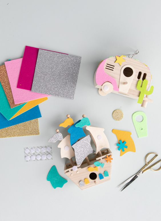 a fun felt puzzle to make for your kids! / via oh joy!