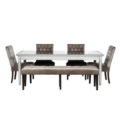 Sophie Mirrored Dining Table From Z Gallerie New House