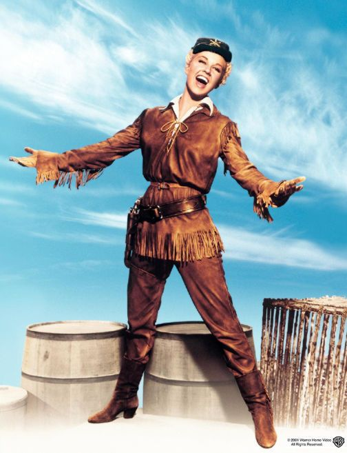 """Doris Day """"Calamity Jane"""" ...one of my all time favorites."""