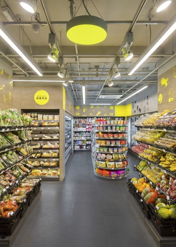 CP Fresh Mart Interior & Brand Design by TRIAD, Shanghai – China » Retail…