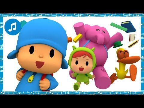 Canciones Infantiles De Pocoyo La Vuelta Al Cole Caricaturas Y Dibujos Animados Para Ni Canciones Infantiles Ninos Dibujos Animados Canciones Para Bebes