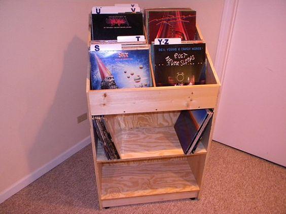 Vinyl Records Storage Bins And Vinyls On Pinterest