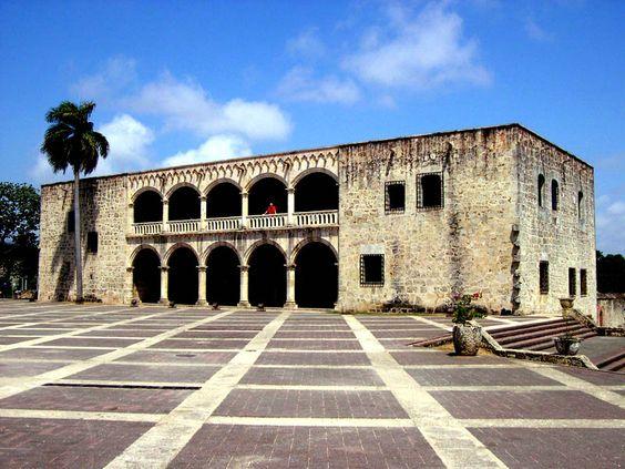 Alcazar de Colon creó por el hermano de Columbus. Alcazar representa la historia de una cultura.