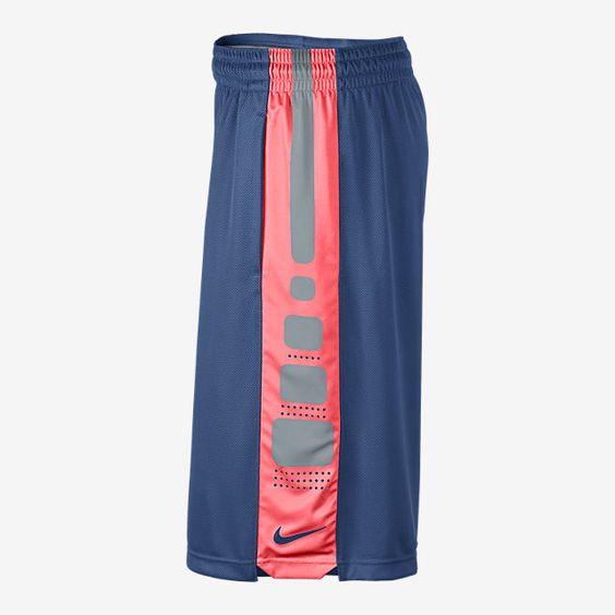 Nike Elite Stripe Men's Basketball Shorts. Nike Store
