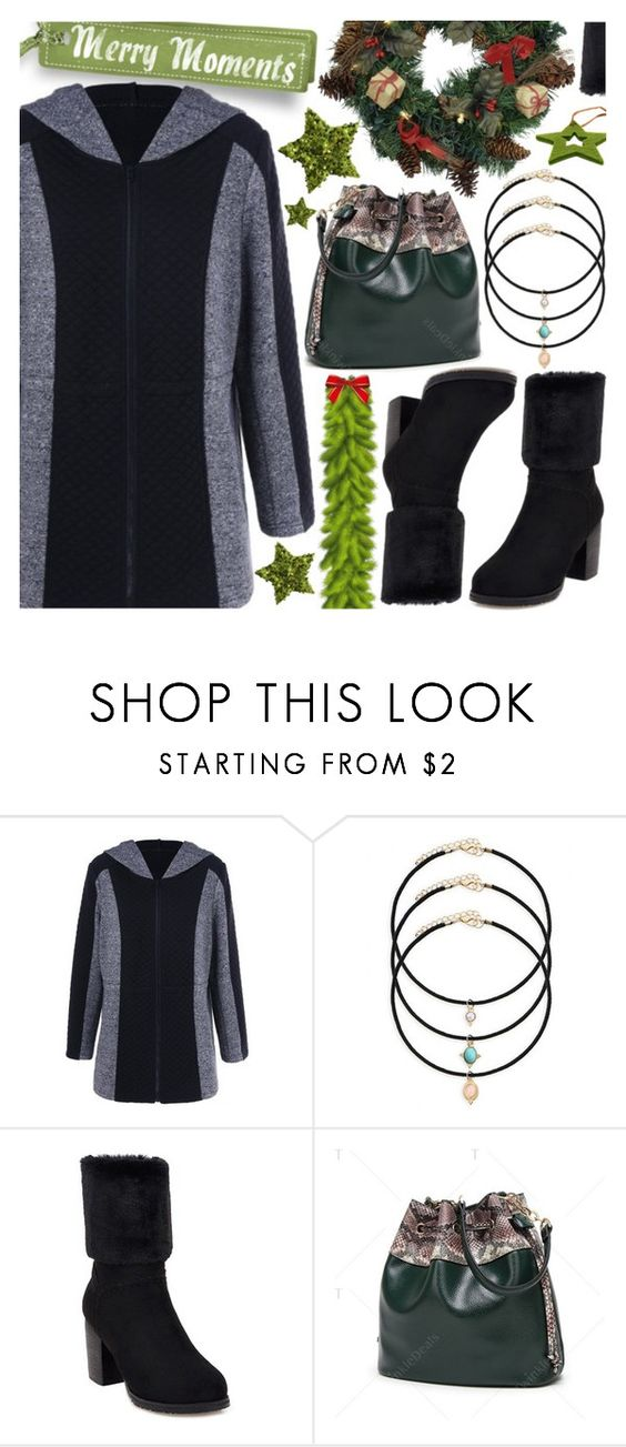 """""""Merry Moments: Casual Chic Holiday Style"""" by pastelneon ❤ liked on Polyvore"""