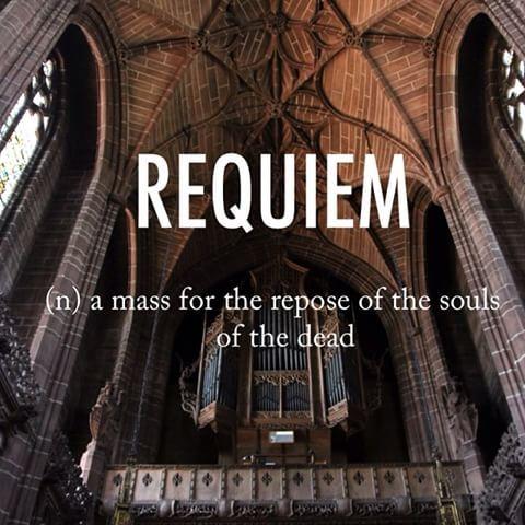 Latin requiem mass