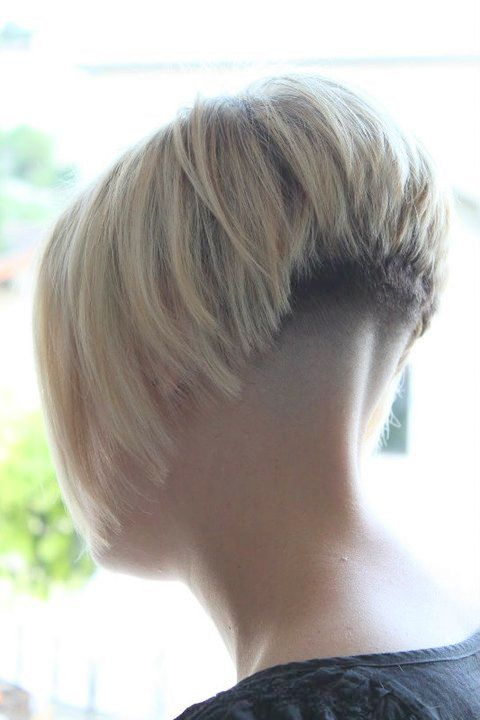 short bob with shaved nape | Adventures in Napes (1 ...