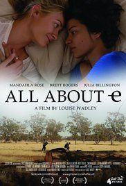 All About E Poster  Director: Louise Wadley Writer: Louise Wadley Stars: Mandahla Rose, Brett Rogers, Julia Billington
