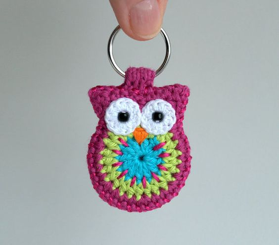 Crochet owls, Owl and Crochet on Pinterest
