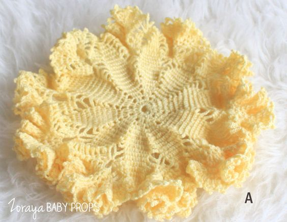 Mustard Props Yellow Cottage Vintage Doilies Posing Newborn Layering,Sitter Posing,Baby Photography,Crochet Easter Props Baby Props