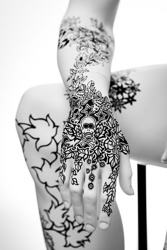 Et si on optait pour un tatou d'un soir au posca?