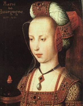 "Mary of Burgundy, ""ca. 1490s""   (posthumous?)(U Flemish Artist)     Musée Condé, Chantilly"