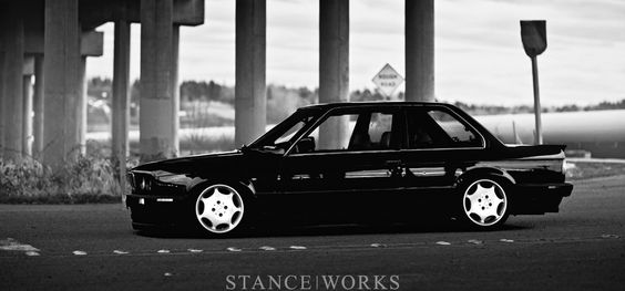 E30 on Merc wheels