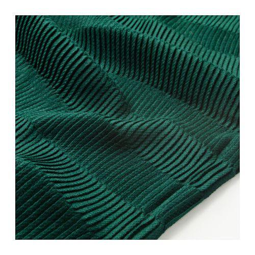 Ikea Vagmalla Blanket Throw Pleats 47 X 63 Dark Green New 203 522 80 Ikea Bedroom Green Ikea Green Throw Blanket