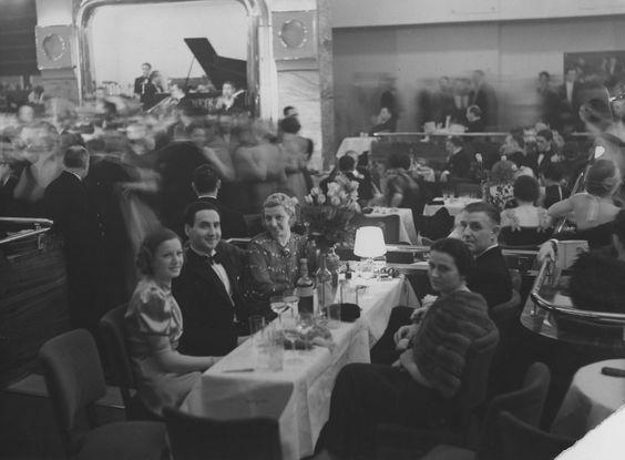 """Bal prasy w lokalu """"Adria"""", luty 1937 r. NAC"""