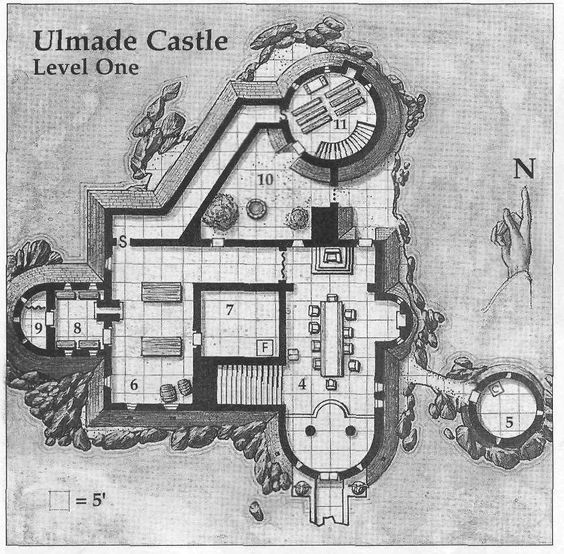 Castles on pinterest for Castle floor plan generator