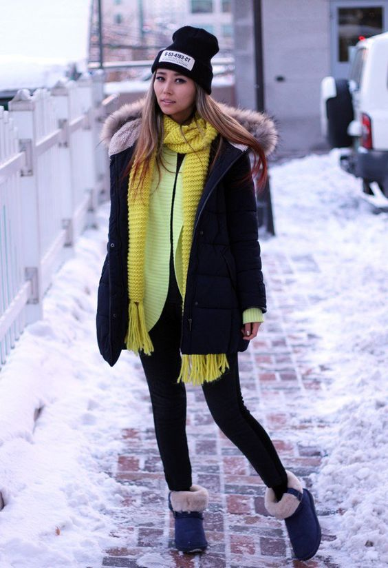 winter-outfitlook-yellow