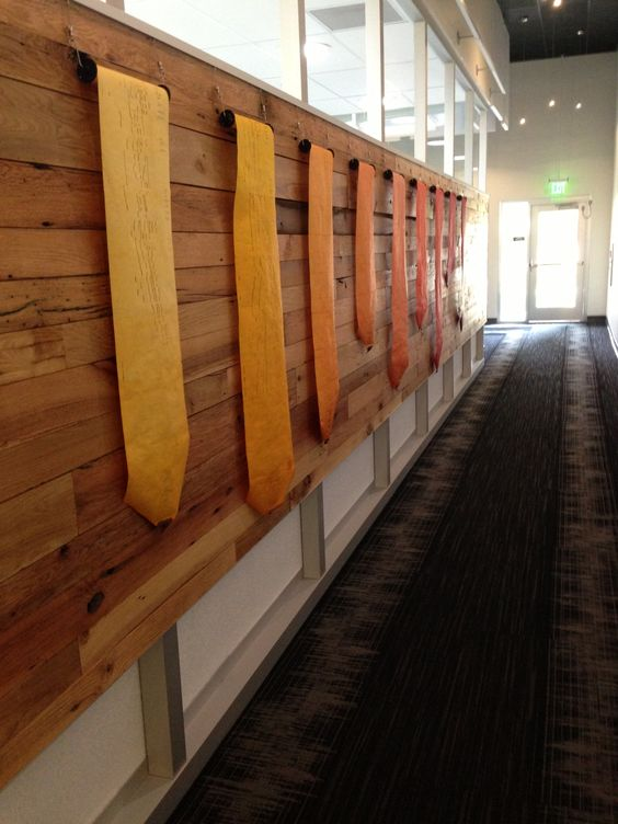 player piano rolls - Installation at Plantronics Headquarters, SC