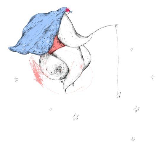 TNT ILUSTRACIÓN //////// TNT ILLUSTRATION  Everybody has a star...  #tnt #tntilustracion #tntillustration #ilustracion #illustration #stars