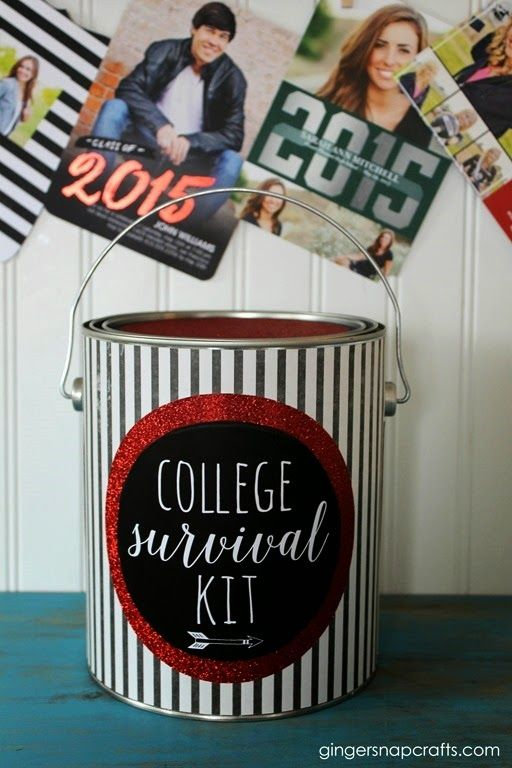 College Survival Kit ~ Easy Graduation Gift Idea {tutorial}