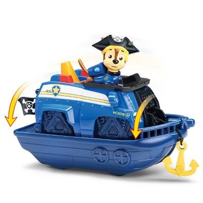 2pk NEW Paw Patrol Pirate Pups Pirate Vehicles w// Chase and Marshall Figures