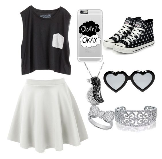 """""""Black and white"""" by gabbygainer ❤ liked on Polyvore"""