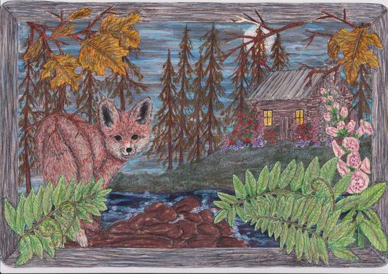 PATH Collection - Fox In The Woods by Sterling
