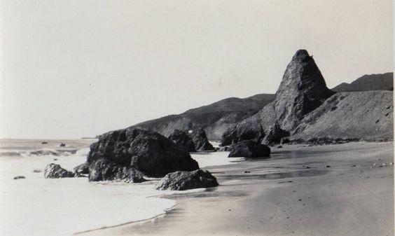 Photo: Castle Rock,Pacific Palisades,California.