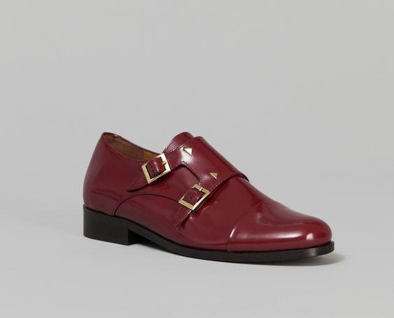 Mocassins Mister Thomas Bordeaux Anne Thomas en vente chez L'Exception #mocassin #shoes #trendysnacks #fashionsnacks