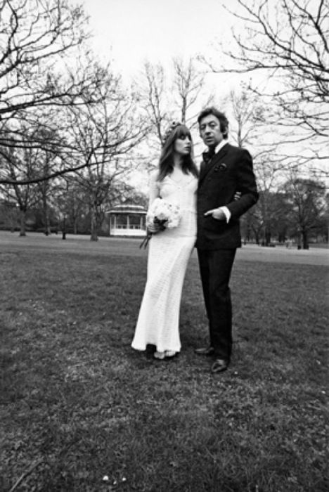 How gloriously boho did Jane Birkin look when she wed ...