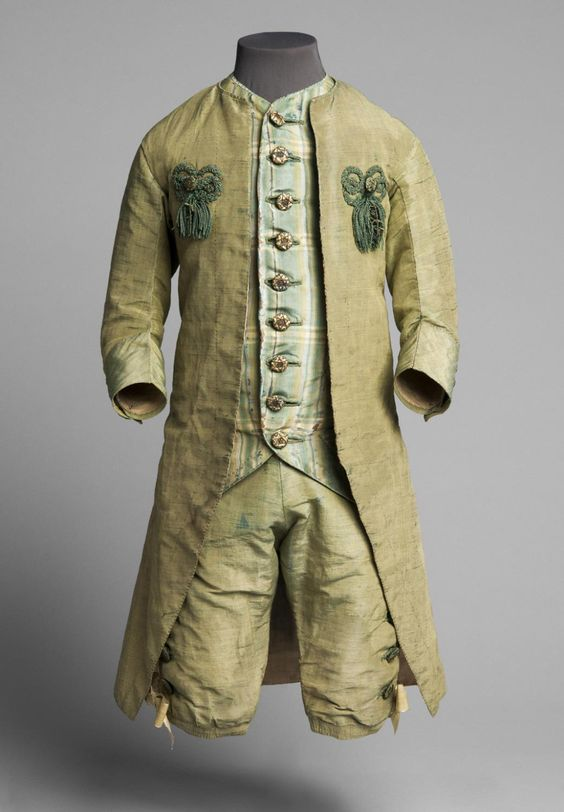 Philadelphia Museum of Art - Collections Object : Boy's Three Piece Suit: Coat, Waistcoat and Breeches c. 1760-1775
