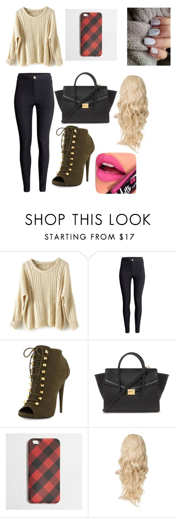 """""""Untitled #42"""" by beautyqueen202 ❤ liked on Polyvore featuring H&M, Giuseppe Zanotti, Forever 21, J.Crew and Fiebiger"""