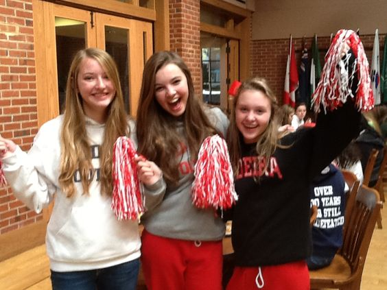 Red and White Day!