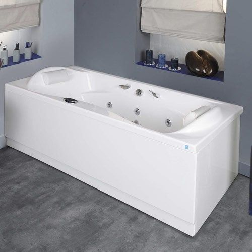 Baignoire D Angle Balneo Leroy Merlin Bathtub Bathroom
