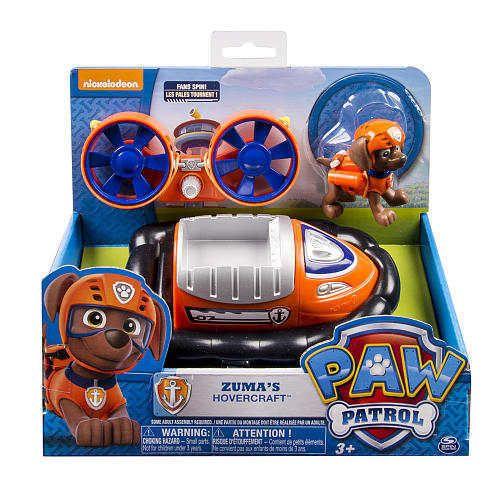 Nickelodeon Paw Patrol - Zuma's Hovercraft  NEW HTF  Hot Toy! #SpinMaster