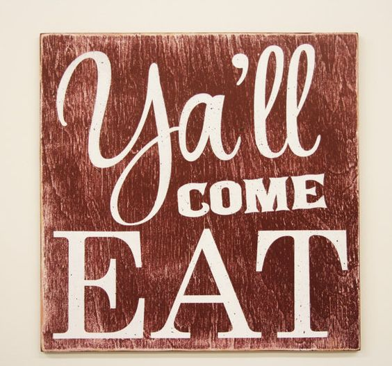 Eat Wall Decor y'all come eat wood sign kitchen sign dining room sign vintage