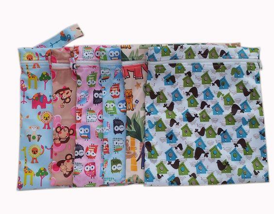 Sac à couches lavables étanche zippé: Amazon.fr: Bébés & Puériculture