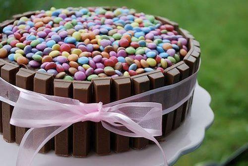 Rezept: KitKat-Kuchen