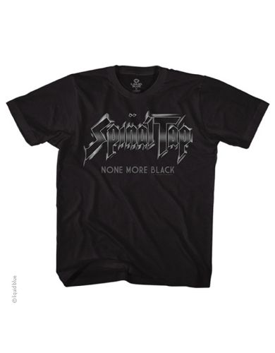 Spinal Tap None More Mens T-shirt - Guaranteed Authentic.  Fast Shipping.