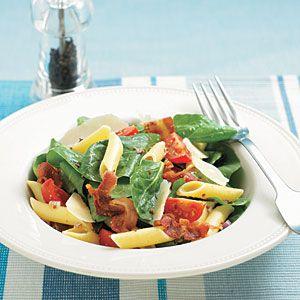 BLT Pasta Salad | MyRecipes.com