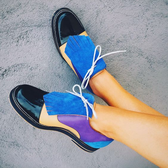 Chelsea Fringed Oxfords by INCH2 http://www.inch2.com/shop/womens ...