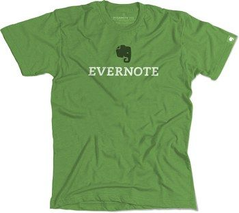 Evernote swag tee