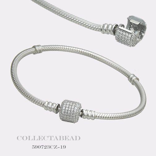 "Authentic Pandora Sterling Silver Bracelet with Signature Lock 7.1"" 590723CZ https://t.co/jhUKLLwMGr https://t.co/VzFPLfLLrg"