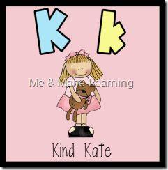 """""""Kind Kate"""" Letter Pack"""