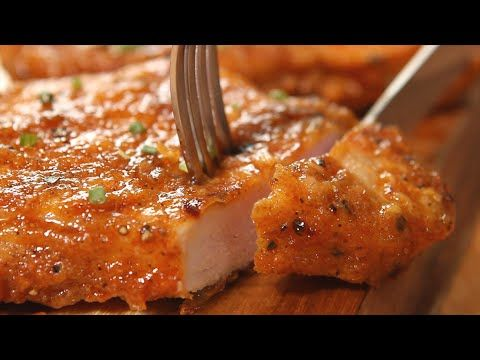 Honey Garlic Pork Chops - the nutmeg will have to go, but the honey garlic sauce sounds great